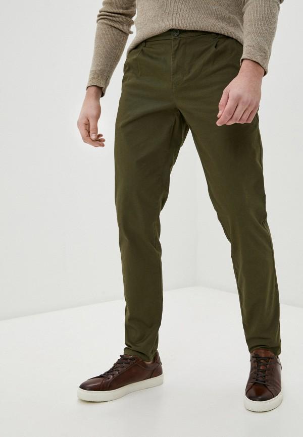 мужские брюки чинос only & sons, хаки