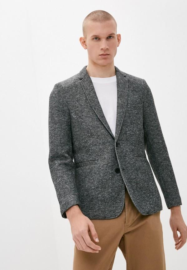 мужской пиджак only & sons, серый