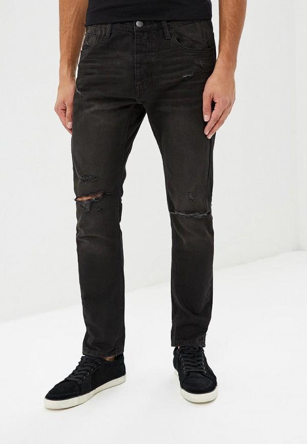 мужские зауженные джинсы one teaspoon, черные