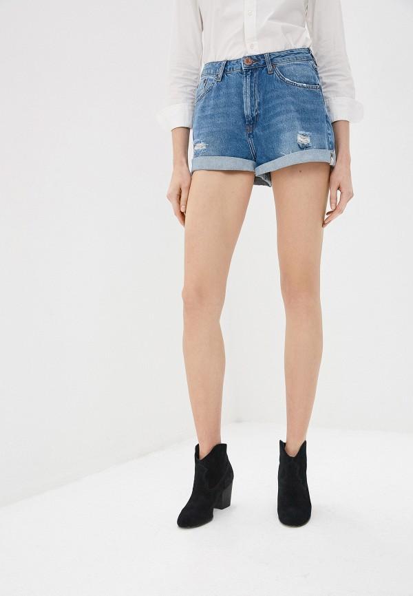 Фото 5 - Шорты джинсовые One Teaspoon синего цвета