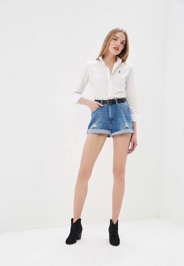 Фото 6 - Шорты джинсовые One Teaspoon синего цвета