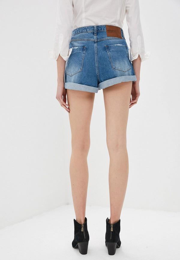 Фото 7 - Шорты джинсовые One Teaspoon синего цвета