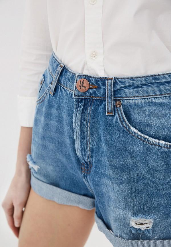 Фото 8 - Шорты джинсовые One Teaspoon синего цвета
