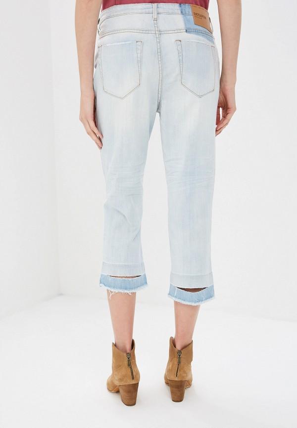 Фото 3 - женские джинсы One Teaspoon голубого цвета