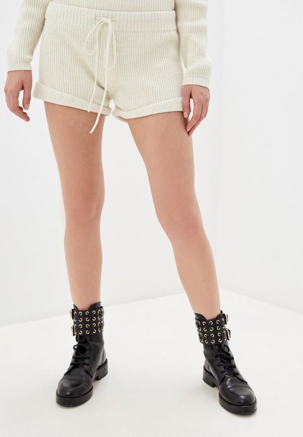 женские повседневные шорты one teaspoon, белые