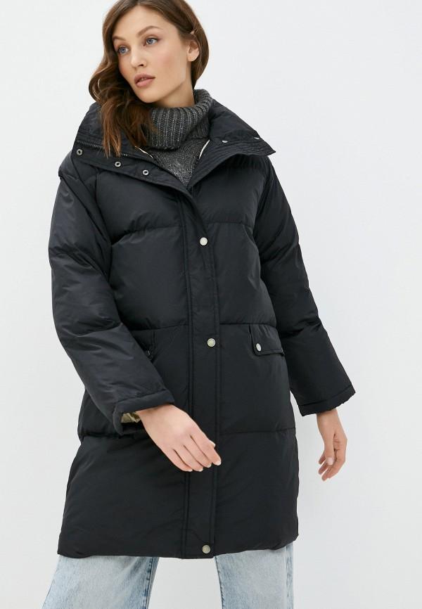 женская куртка on parle de vous, черная