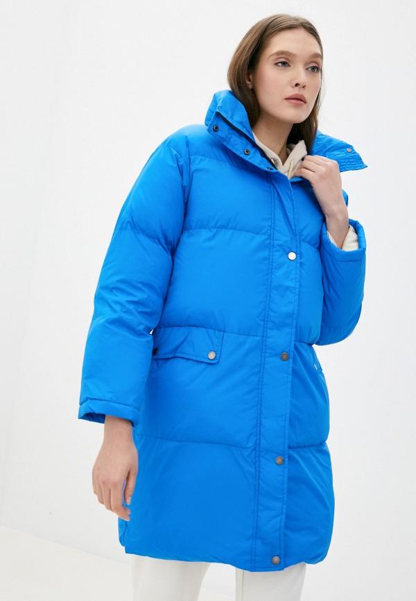 женская куртка on parle de vous, синяя