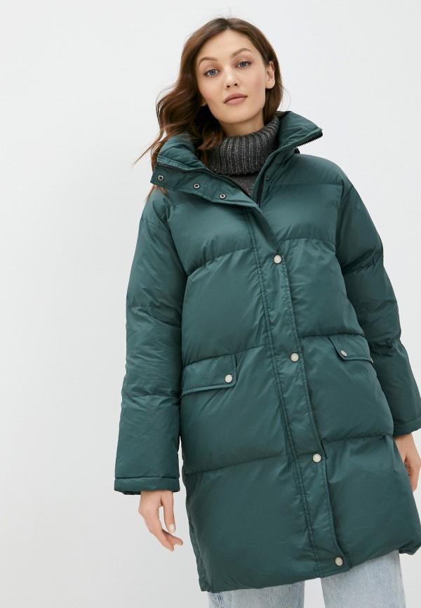женская куртка on parle de vous, зеленая