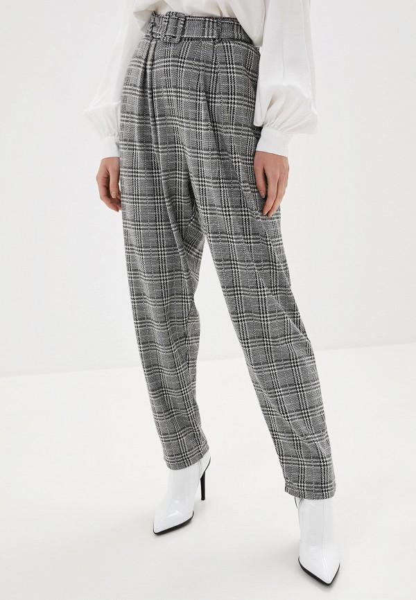 женские зауженные брюки only carmakoma, серые