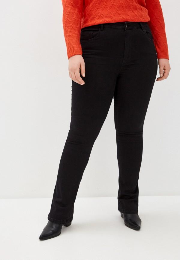 женские джинсы only carmakoma, черные