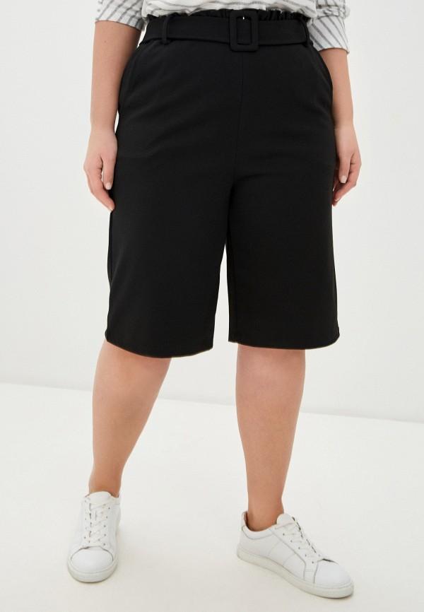 женские повседневные шорты only carmakoma, черные