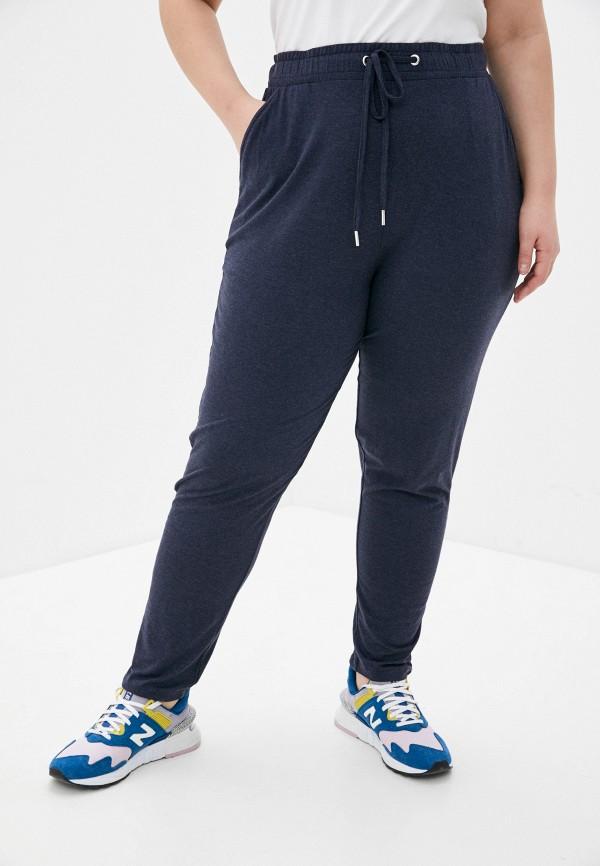 женские брюки only carmakoma, синие