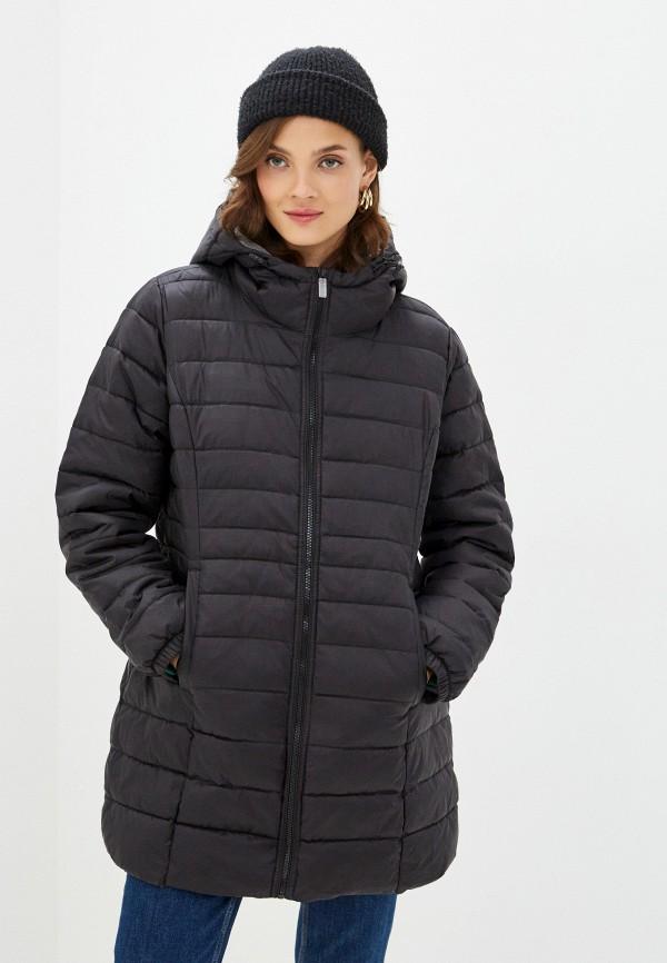 женская куртка only carmakoma, черная
