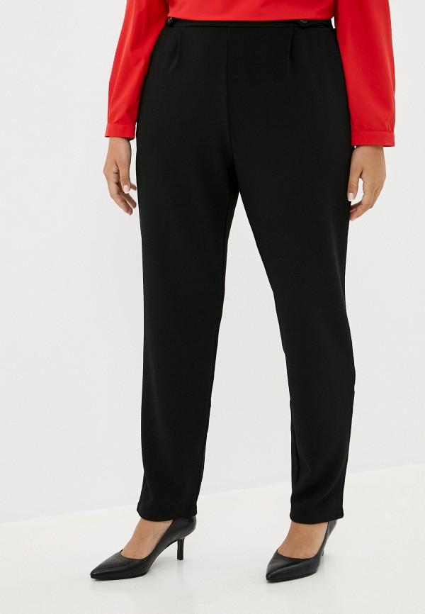 женские прямые брюки only carmakoma, черные