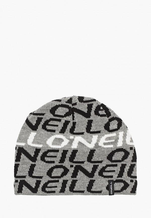 мужская шапка o'neill, серая