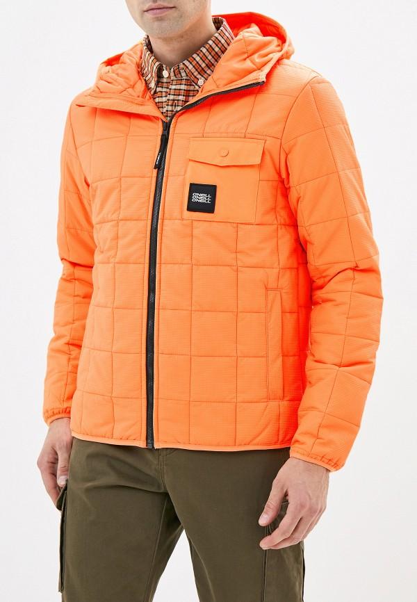мужская куртка o'neill, оранжевая