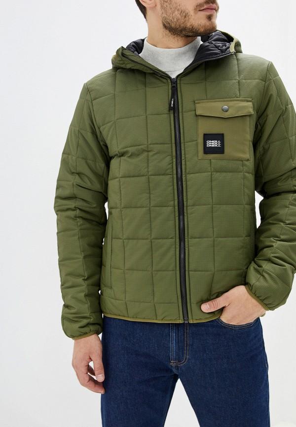 мужская куртка o'neill, зеленая