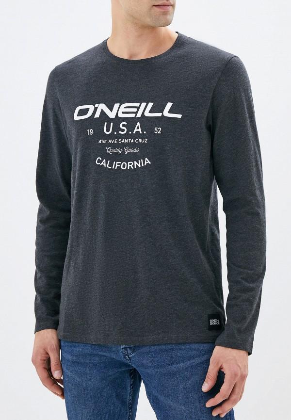 мужской лонгслив o'neill, серый