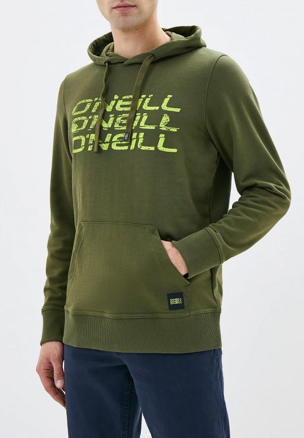 мужские худи o'neill, зеленые