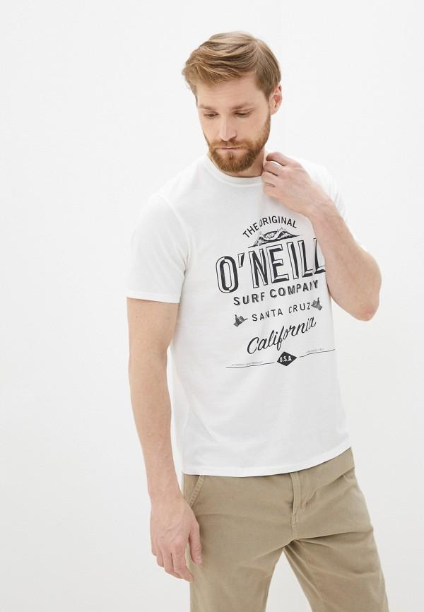 мужская спортивные футболка o'neill, белая