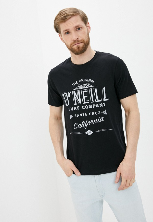 мужская спортивные футболка o'neill, черная