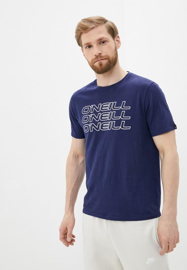 мужская спортивные футболка o'neill, синяя