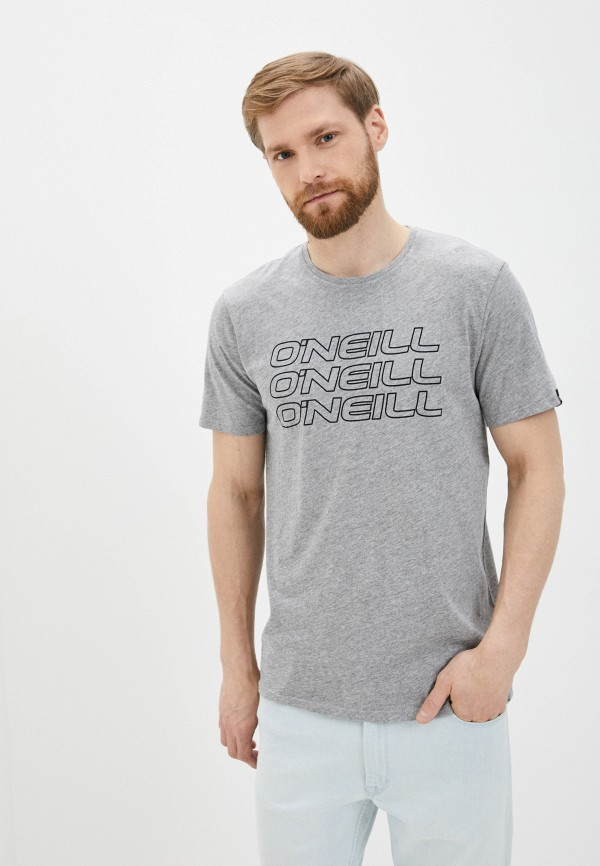 мужская спортивные футболка o'neill, серая