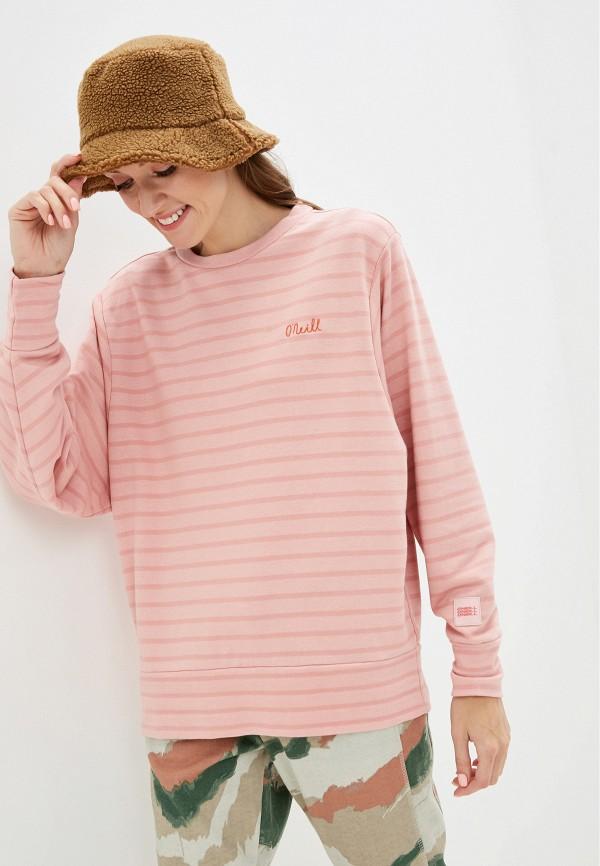 женский свитшот o'neill, розовый