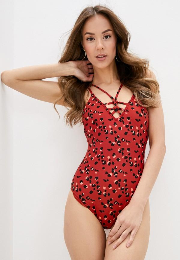 женский купальник o'neill, красный