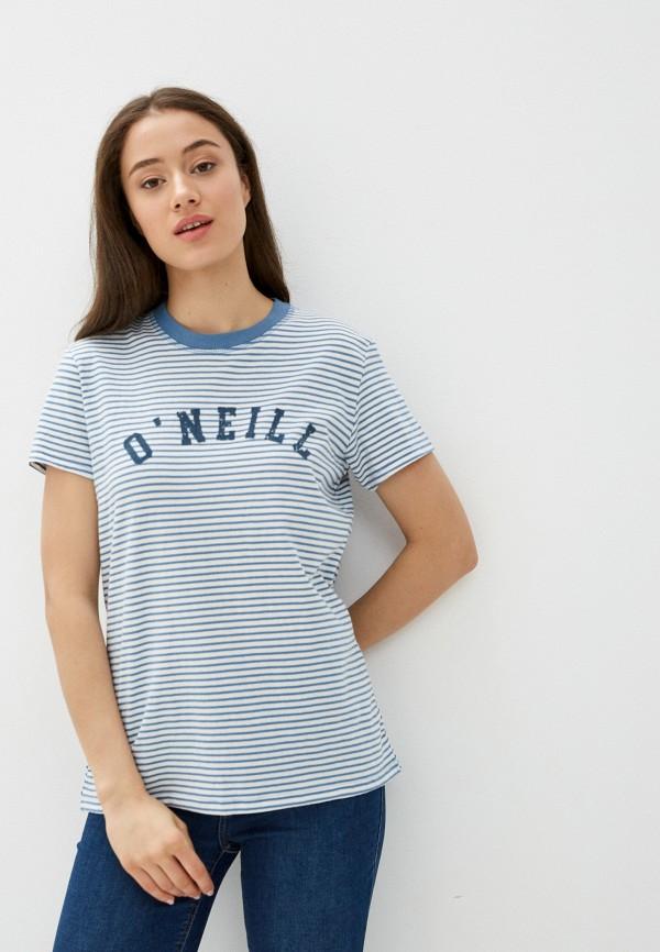 женская спортивные футболка o'neill, белая