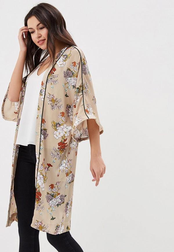 Купить Кимоно Only, on380ewafto5, бежевый, Весна-лето 2018