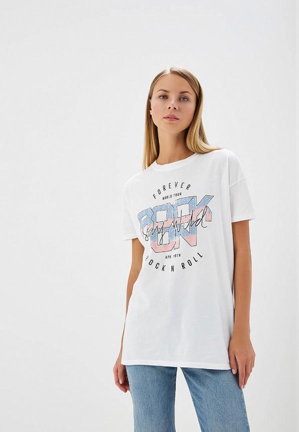 Купить Футболка Only, on380ewafts6, белый, Весна-лето 2018
