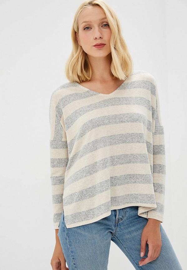 женский пуловер only, бежевый