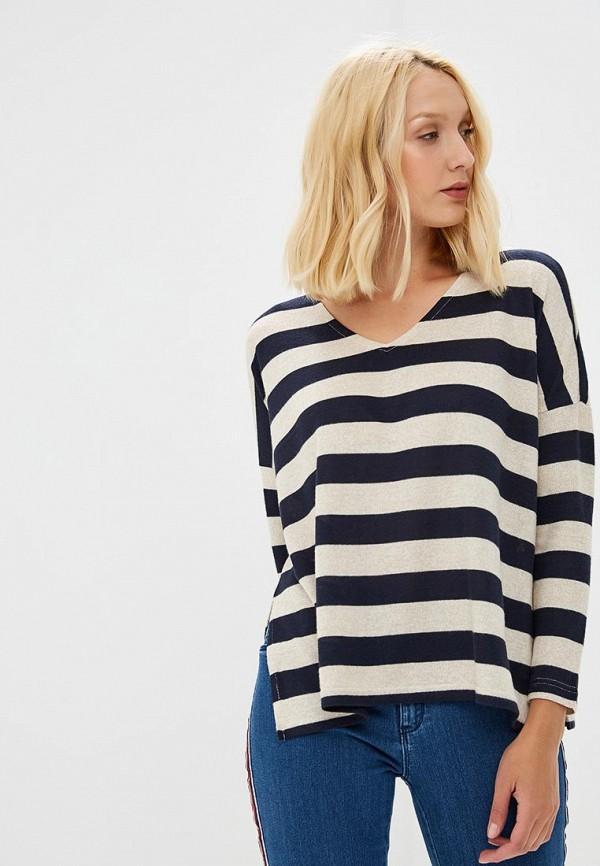 женский пуловер only, синий