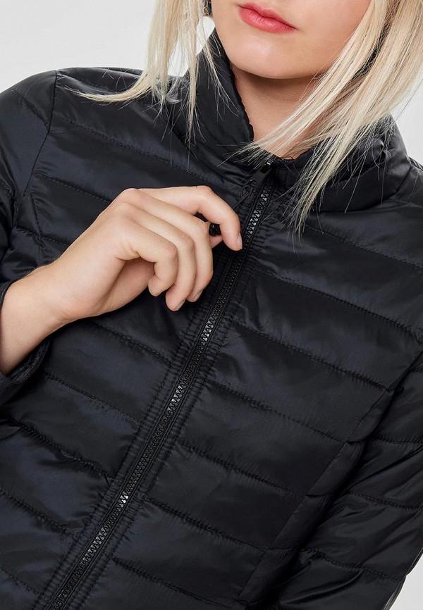 Фото 4 - Куртку утепленная Only черного цвета