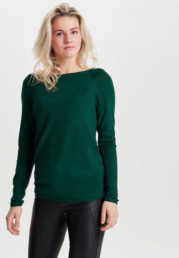 Фото - женский джемпер Only зеленого цвета