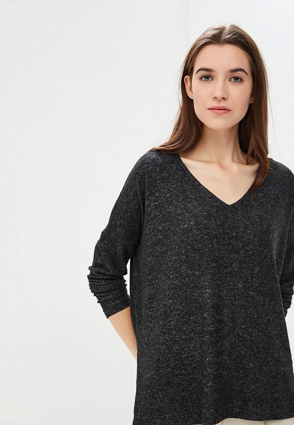 женский пуловер only, серый
