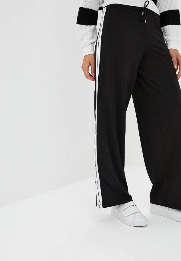 женские брюки клеш only, черные