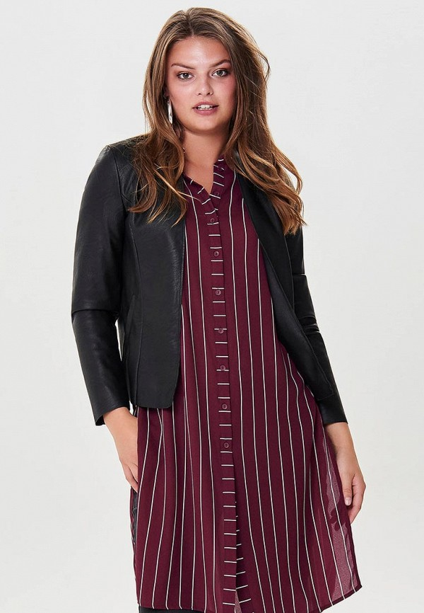 Купить Куртка кожаная Only, ON380EWCAZK1, черный, Осень-зима 2018/2019