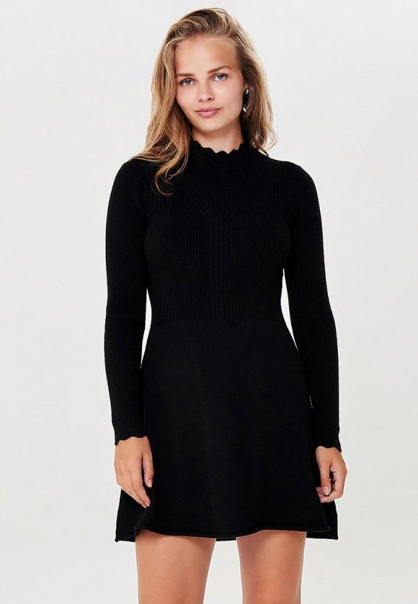 женское повседневные платье only, черное
