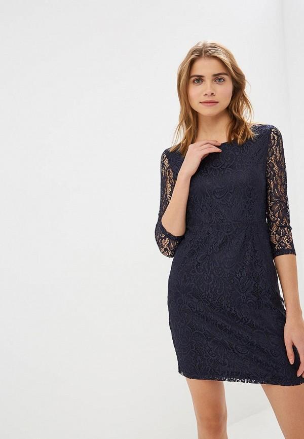 женское вечерние платье only, синее