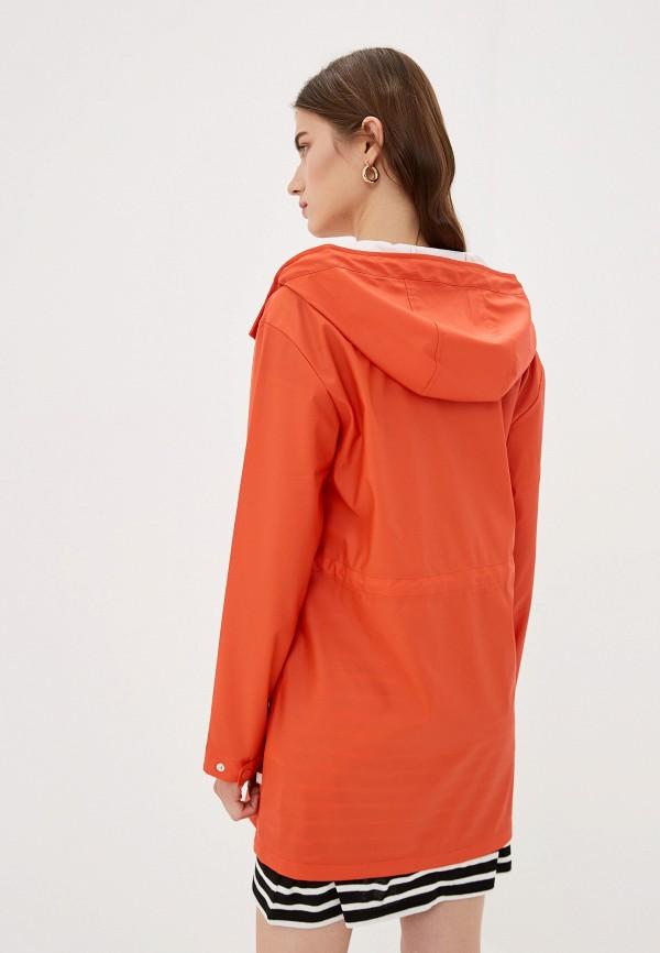 Фото 3 - женское пальто или плащ Only оранжевого цвета