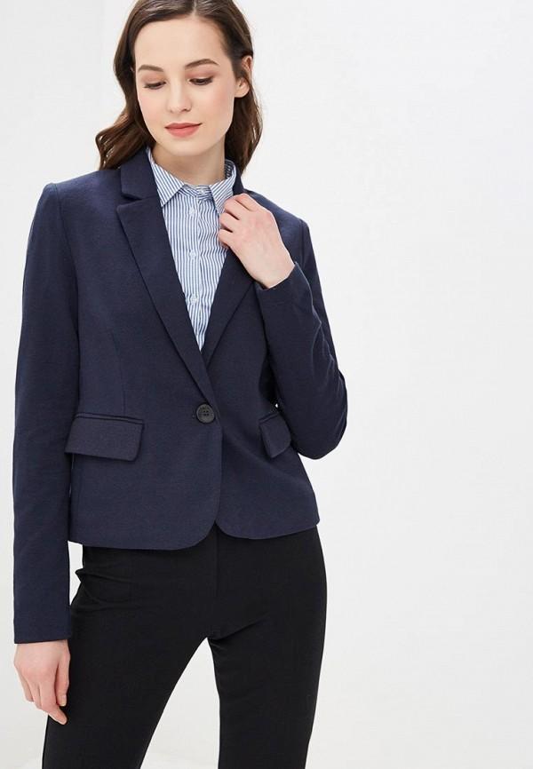 женский пиджак only, синий