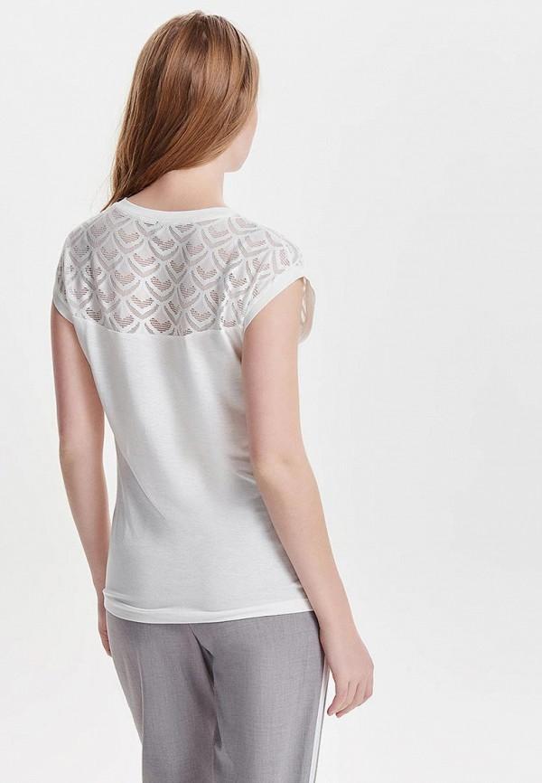 Фото 3 - женскую блузку Only белого цвета