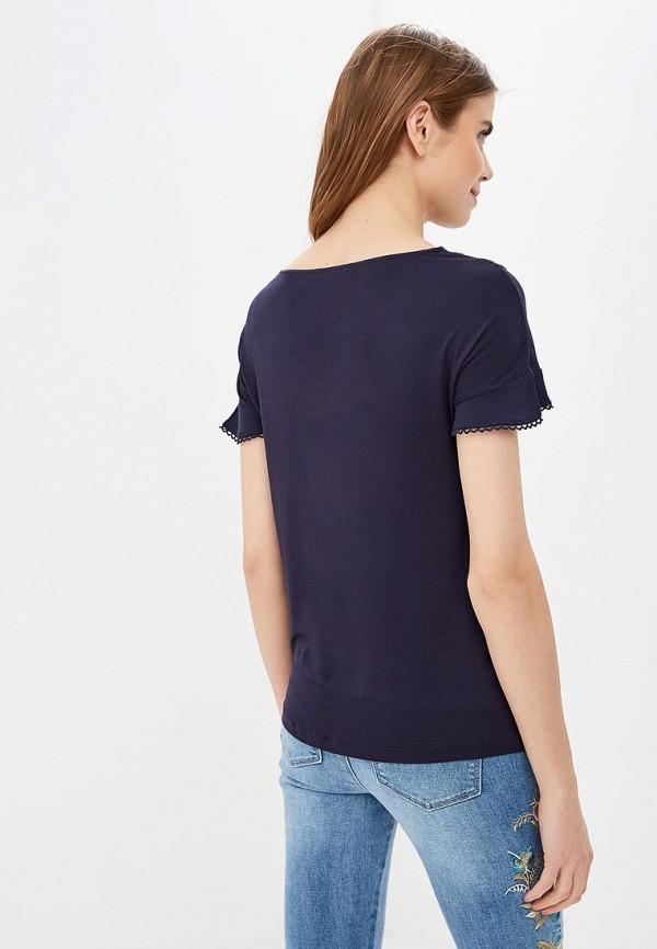 Фото 3 - женскую блузку Only синего цвета