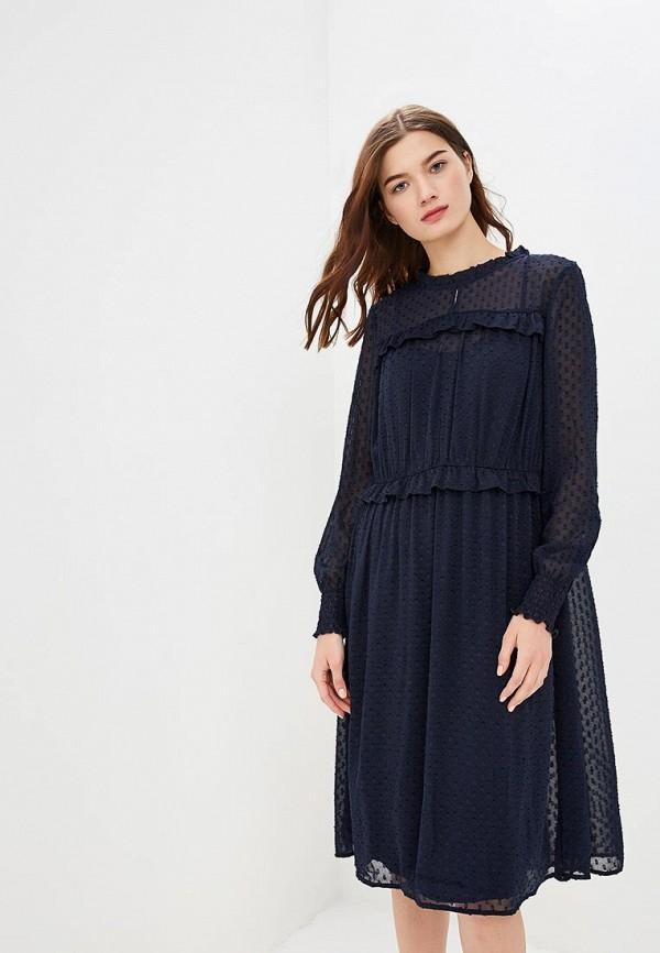 женское повседневные платье only, синее