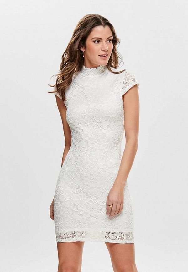 женское вечерние платье only, белое