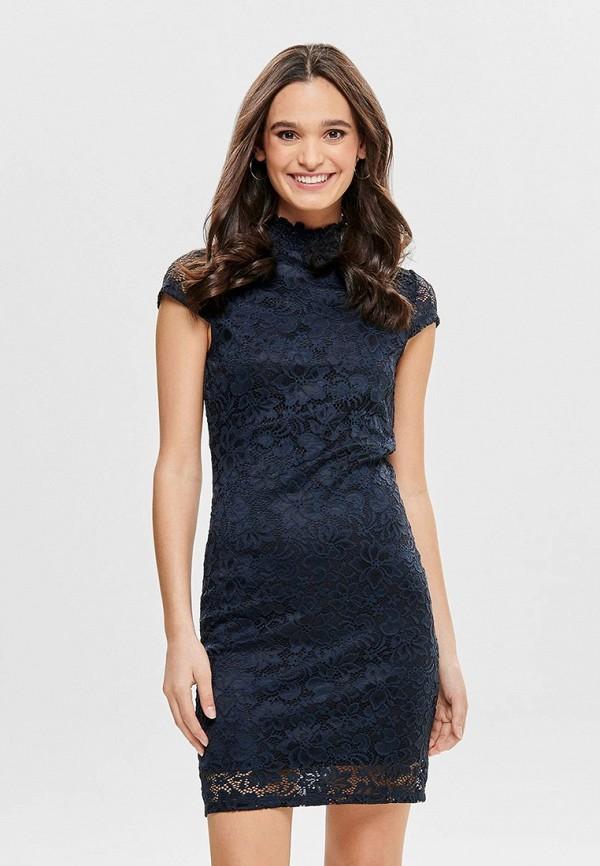 Фото - женское вечернее платье Only синего цвета