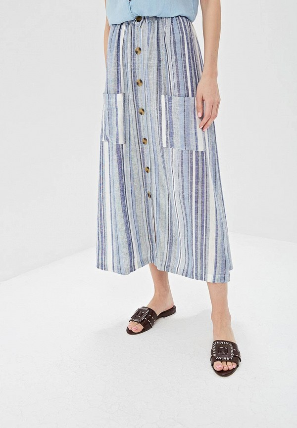 Фото - женскую юбку Only синего цвета