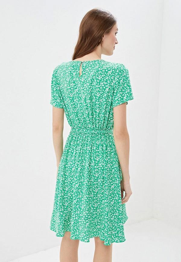 Фото 3 - женское платье Only зеленого цвета